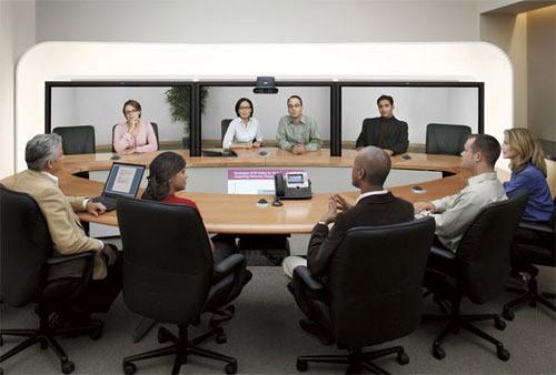 màn hình ghép hội nghị truyền hình