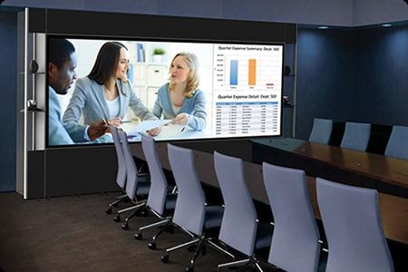 màn hình họp trực tuyến